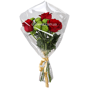 Корпоративный букет из роз